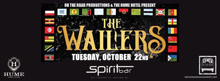 The Wailers   Nelson BC @ Spirit Bar Hume Hotel