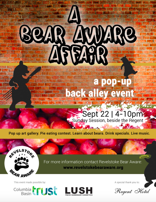 A Bear Aware Affair @ Back Alley Beside the Regent