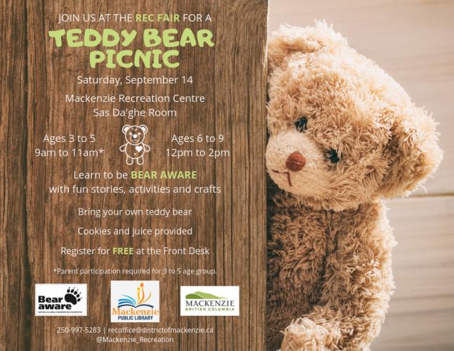 Teddy Bear Picnic At The Rec Fair