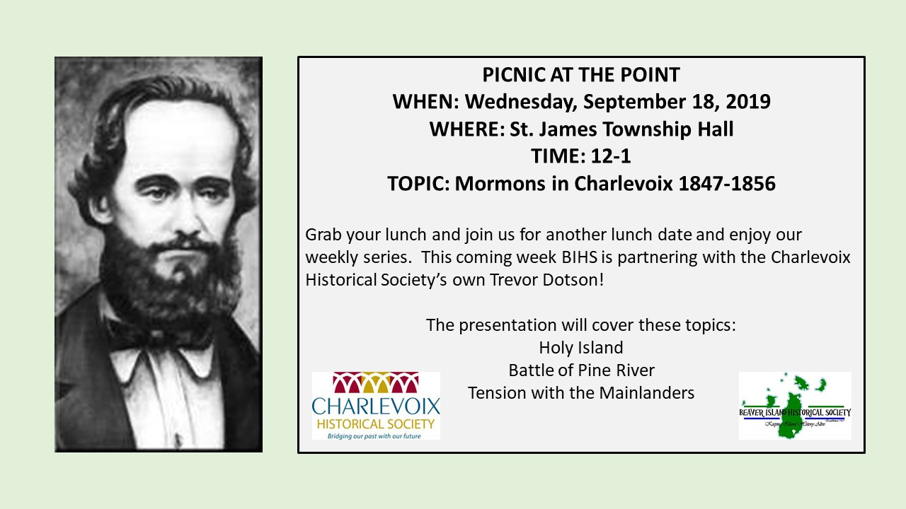 Picnic at the Point-Strang Series Continues: Trevor Dotson @ St. James Township Hall