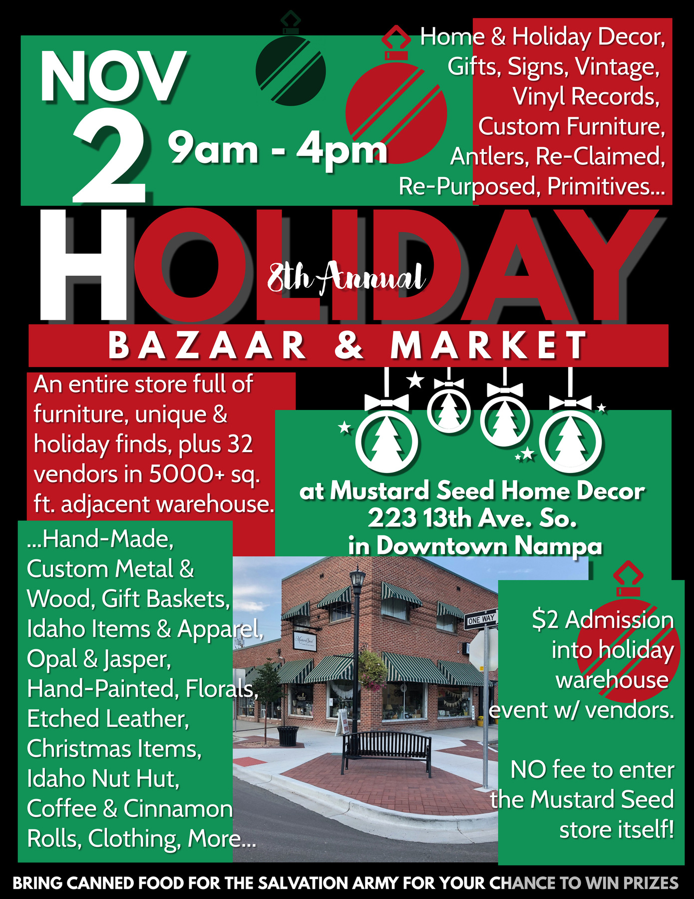 Mustard Seeds 8th Annual Holiday Market
