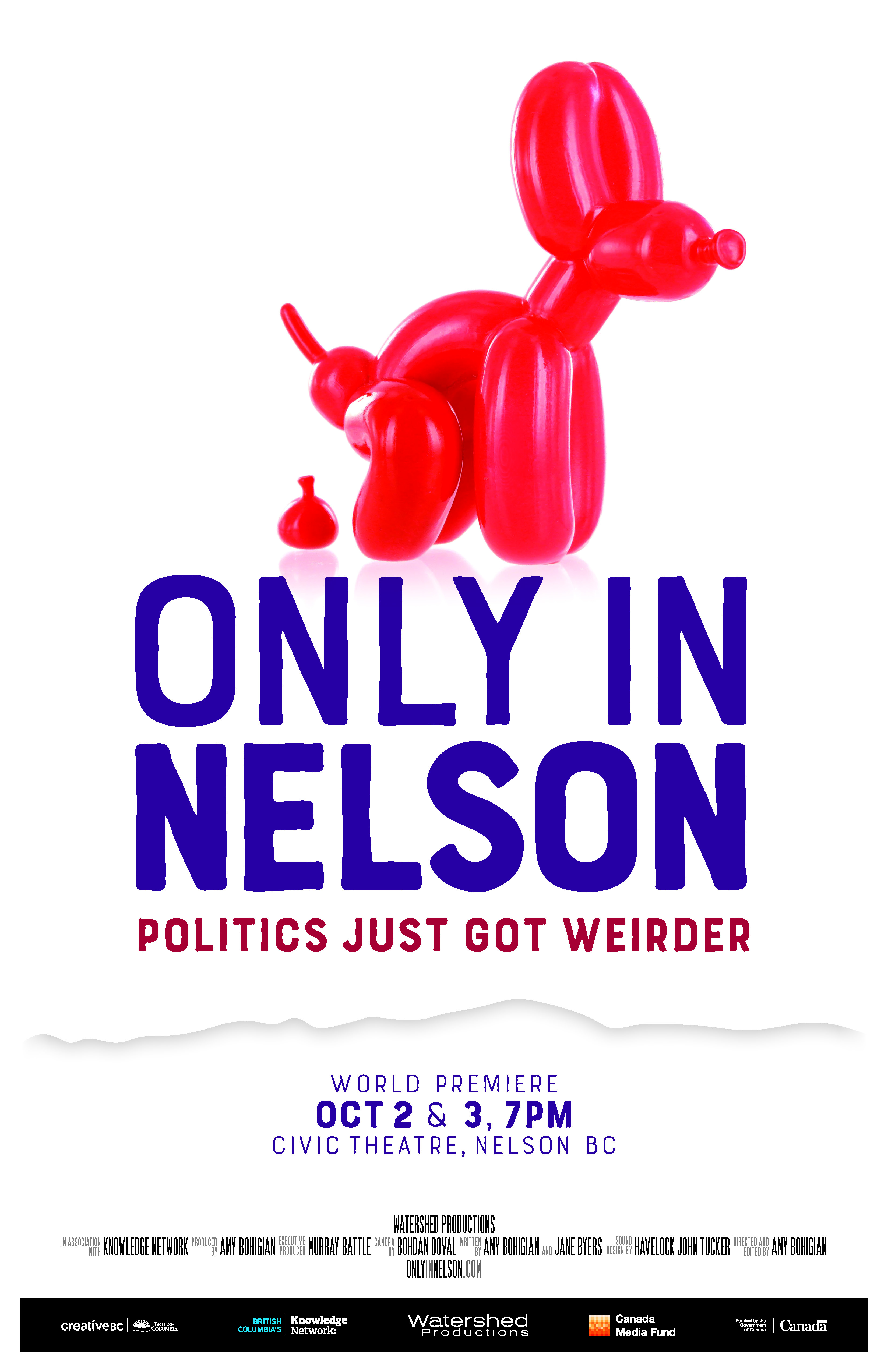 Only in Nelson - Film Screening @ Civic Theatre