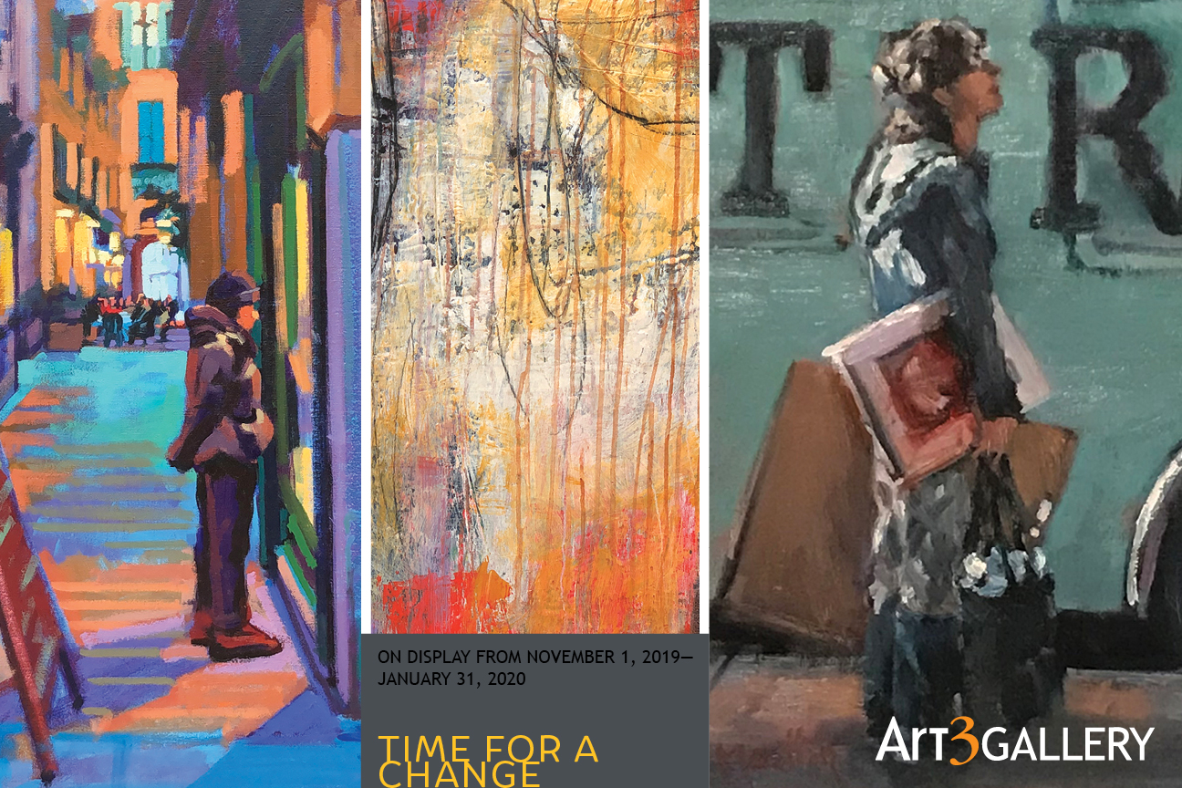 Time Change 2020 Fall.Art 3 Gallery Time For A Change