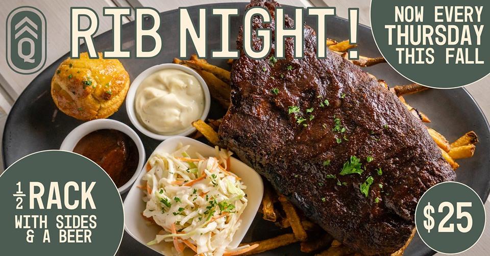 Rib Night! @ Quartermaster Eatery