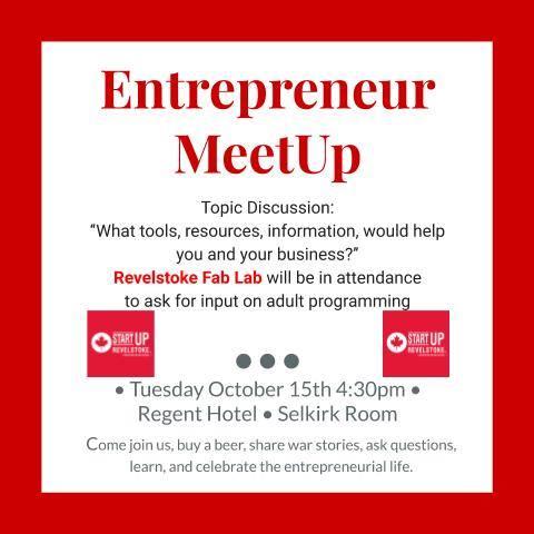 Entrepreneur MeetUp @ Regent Hotel