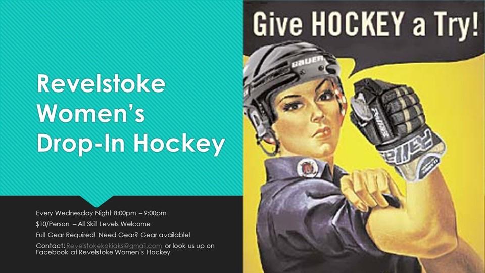 CANCELED - Revelstoke Women's Drop-In Hockey @ Revelstoke Forum |  |  |