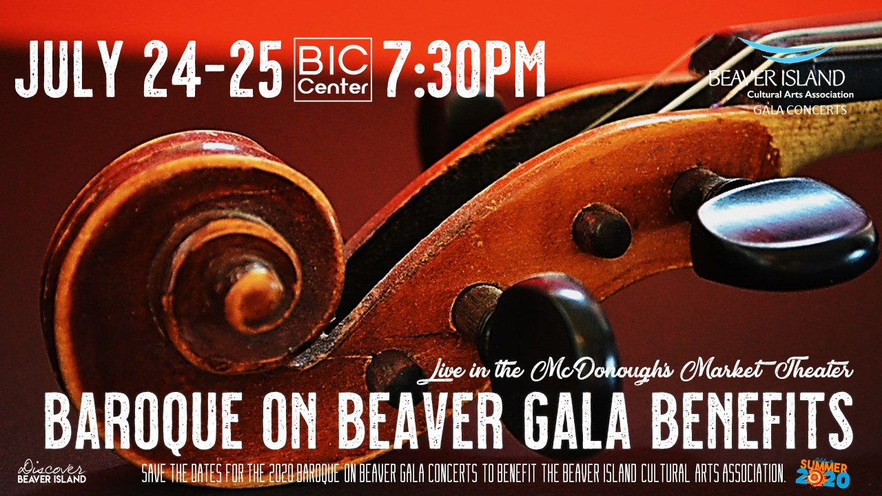 Kevin Cole: A Baroque on Beaver Gala Benefit Concert @ Beaver Island Community Center