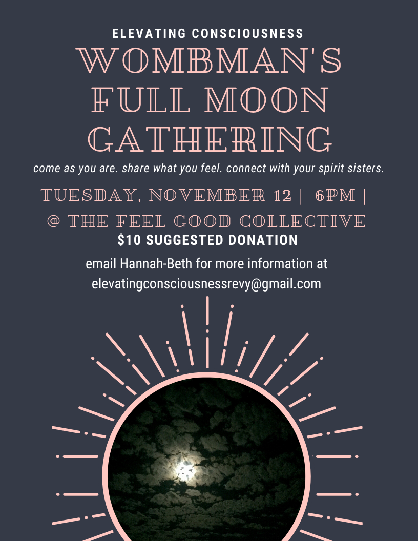 Wombman's Full Moon Gathering @ Feel Good Collective