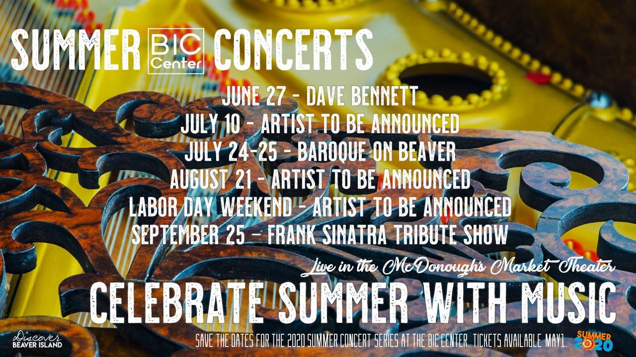 Summer Concert Series @ Beaver Island Community Center