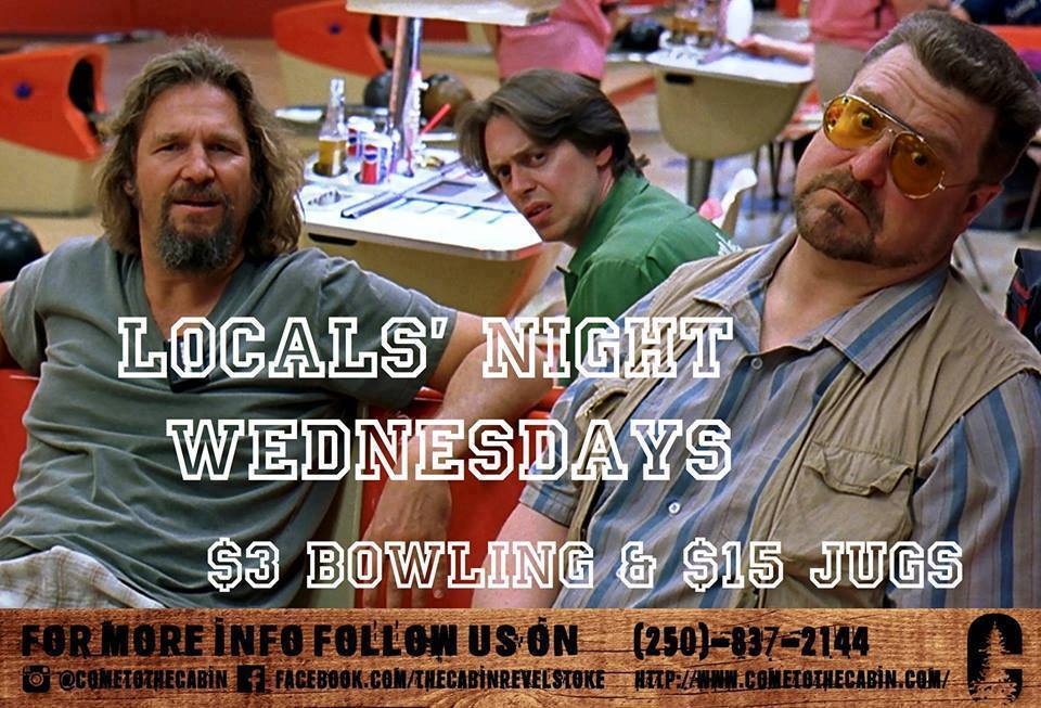 The Cabin Locals Night – $3 Bowling @ The Cabin |  |  |