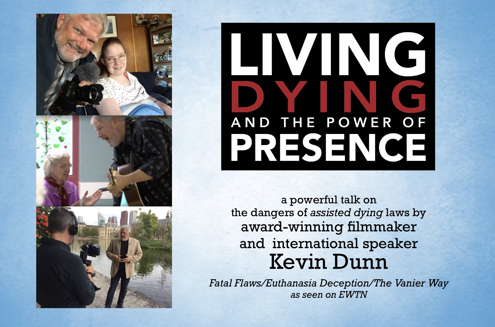 Living, Dying, and the Power of Presence @ St. Ann's Parish