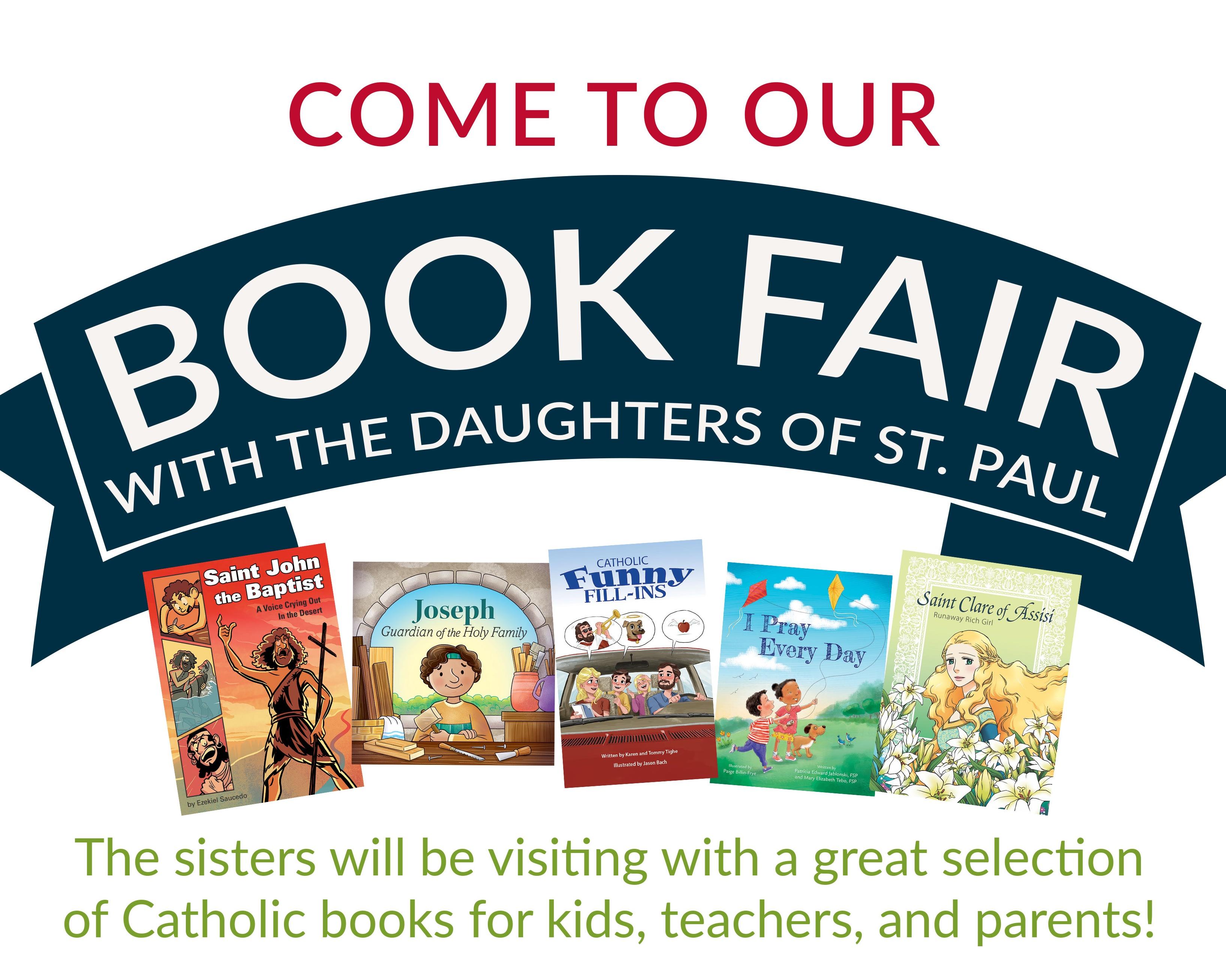School Book Fair at Queen of All Saints School @ Queen of All Saints School