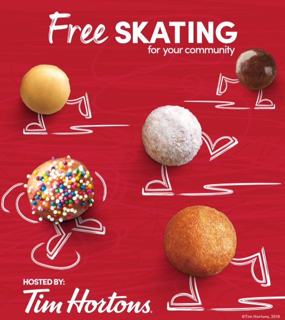 Family Day Free Skate @ Revelstoke Forum
