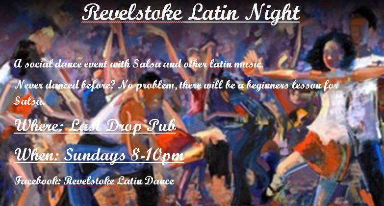 CANCELED - Revelstoke Latin Night @ Last Drop Pub
