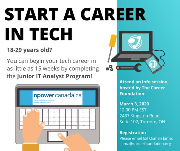 Info Session Npower Canada Junior It Analyst Program