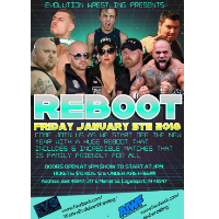 Evolution Wrestling presents Reboot @ The State Theatre
