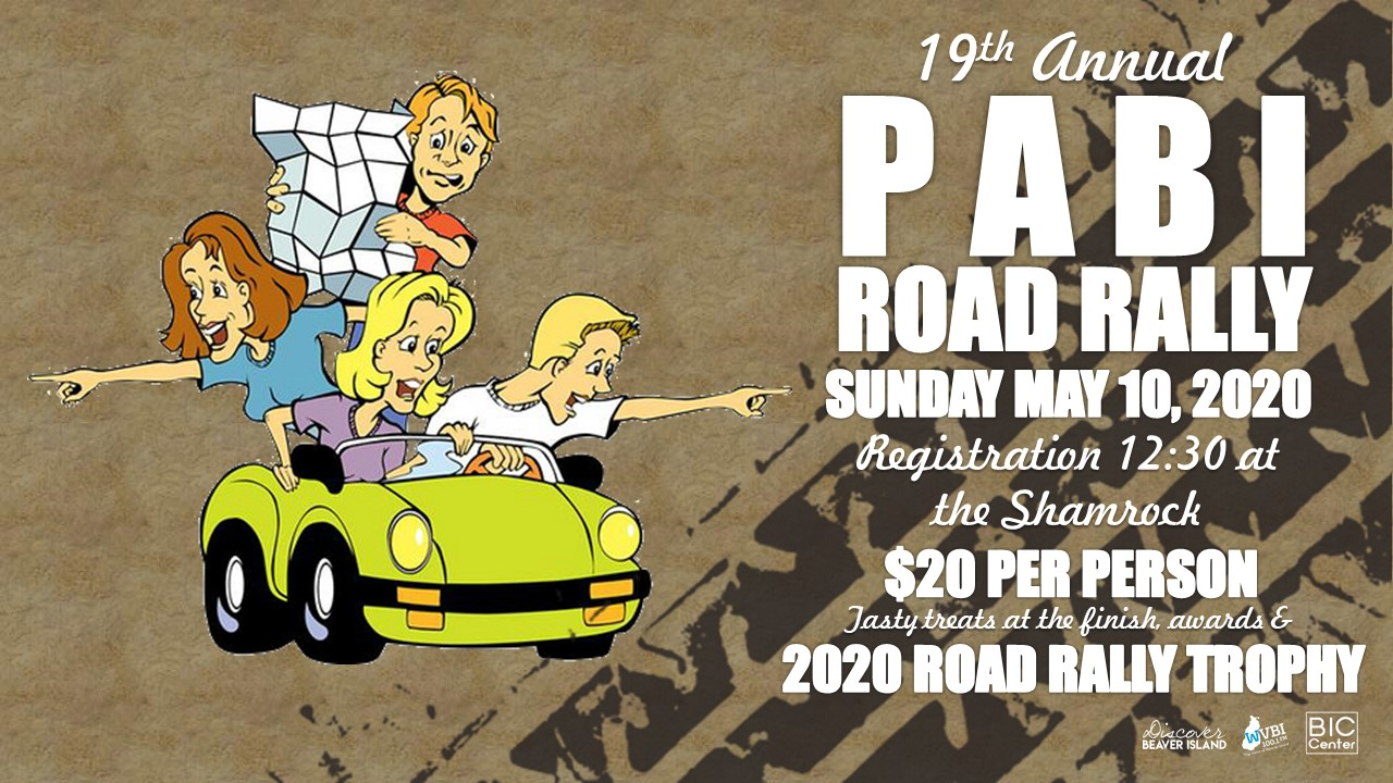 19th PABI Road Rally @ Beaver Island Community Center