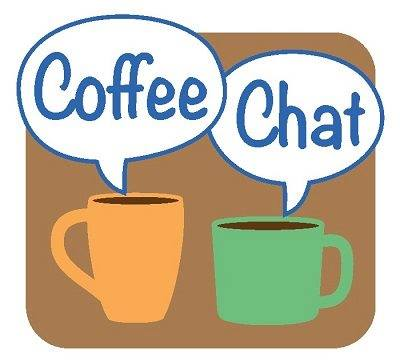 Student coffee chat with DVC President