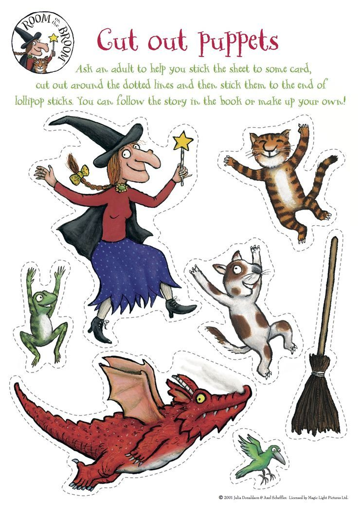Room on the Broom - Take and Make Halloween Craft @ Okanagan Regional Library Revelstoke Branch |  |  |