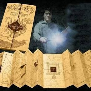 Marauder's Map - Harry Potter Magical Creatures Scavenger Hunt @ Okanagan Regional Library Revelstoke Branch |  |  |