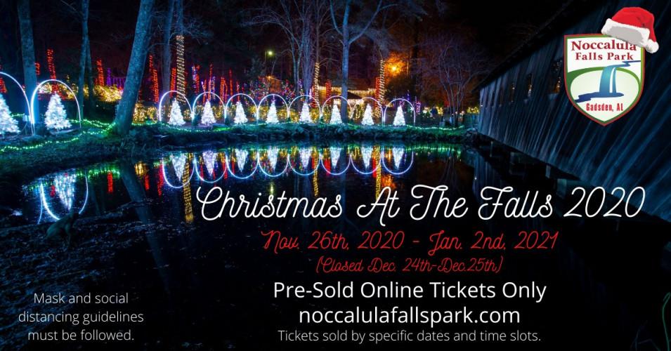 Christmas at the Falls