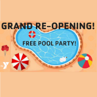 Free Pool Grand Re-Opening Party @ Cass County Family Y