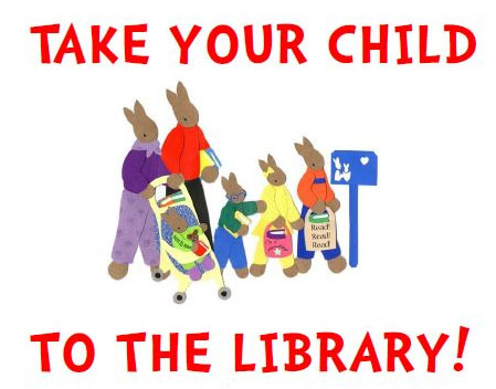 Image result for take your child to the library day