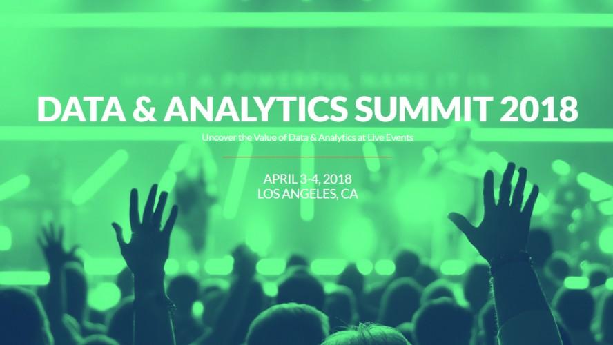 XLIVE Data & Analytics Summit 2018