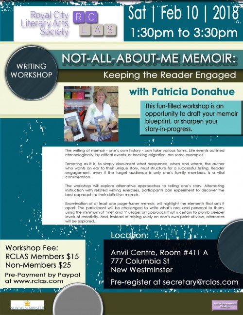 Not all about me memoir keeping the reader engaged rclas workshop event details malvernweather Choice Image