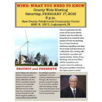 County Wide Wind Meeting @ Cass County 4-H Fairgrounds