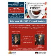 'Federal Update' Legislative Breakfast @ Manitou Banquet Hall