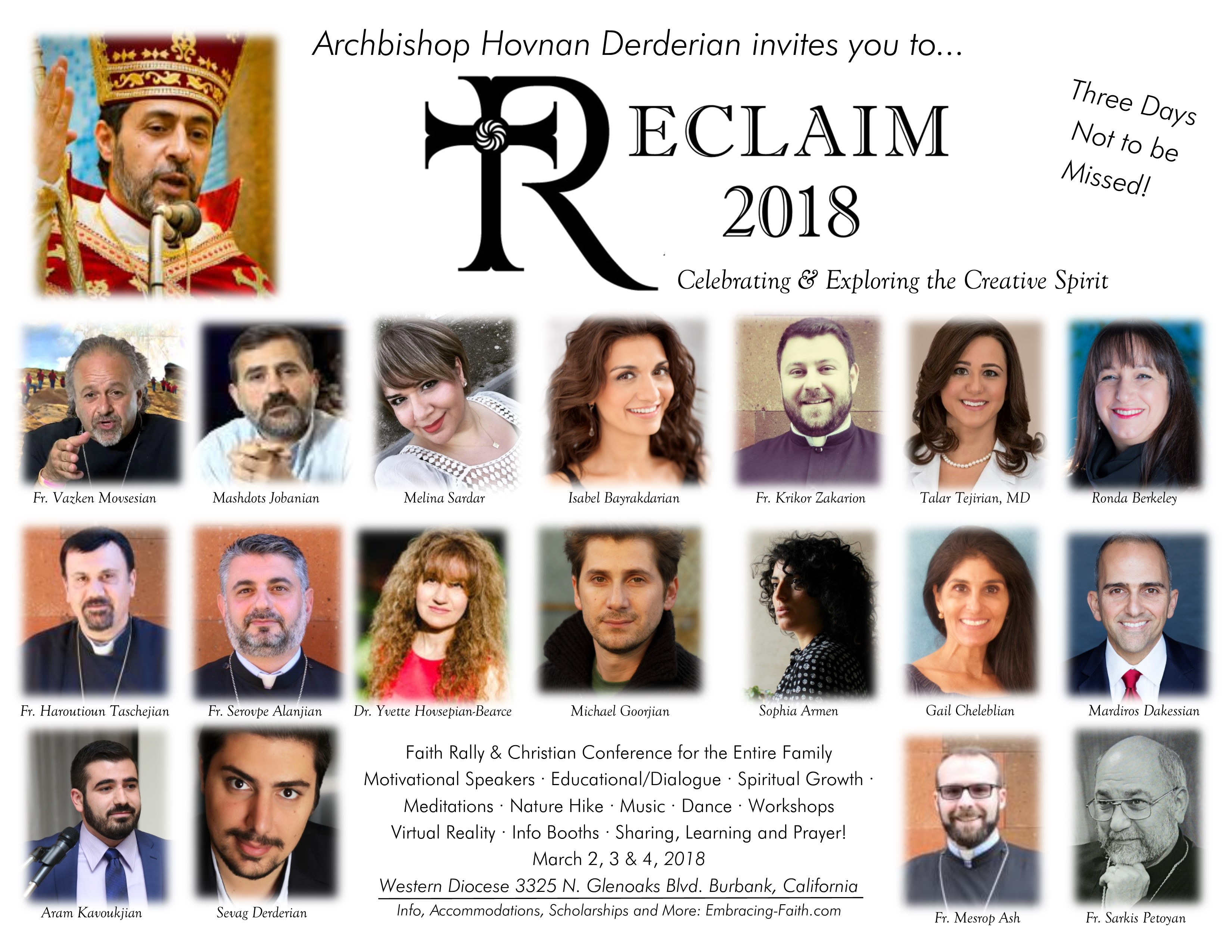 Reclaim 2018~Exploring & Celebrating the Creative Spirit