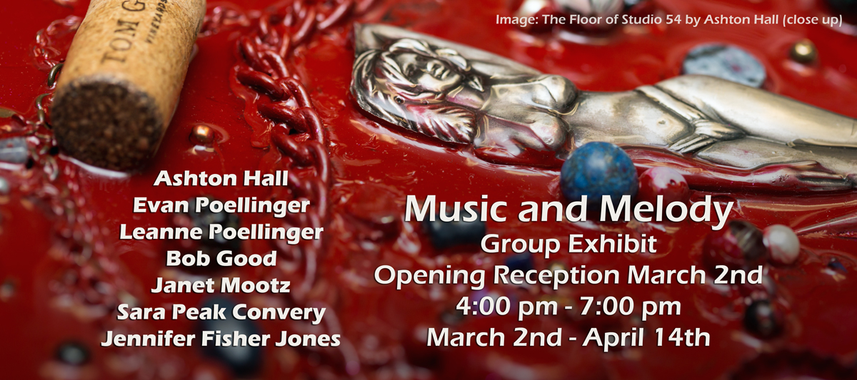 Music and Melody Exhibit and Opening Reception @ Gallery M and Janet Mootz Photo