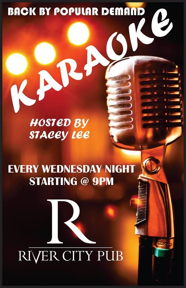 Karaoke Wednesdays @ River City Pub |  |  |