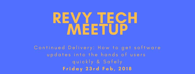 Revy Tech Meetup - Continuous Delivery @ Mountain CoLab |  |  |