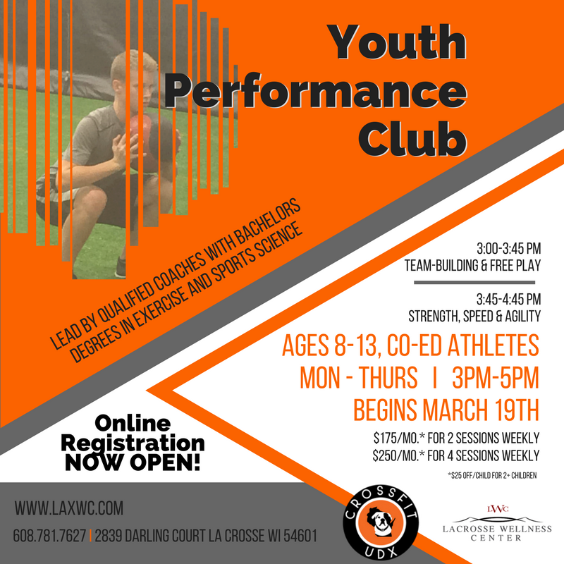 Youth Performance Club @ La Crosse Wellness Center