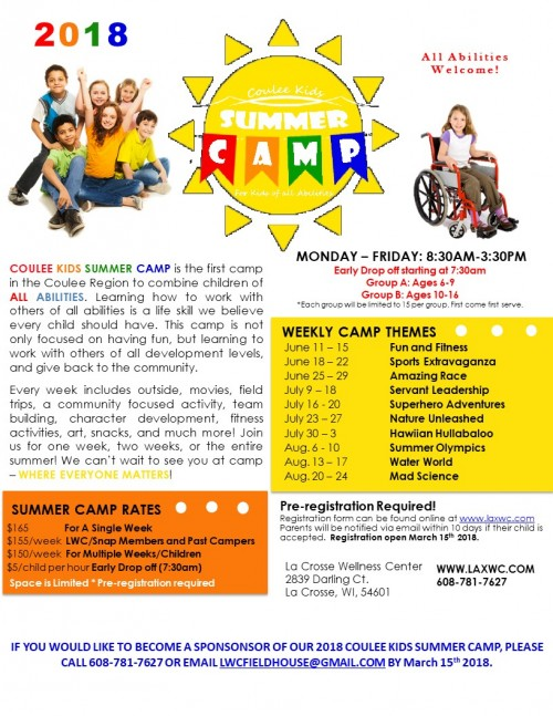 Coulee Kids Summer Camp
