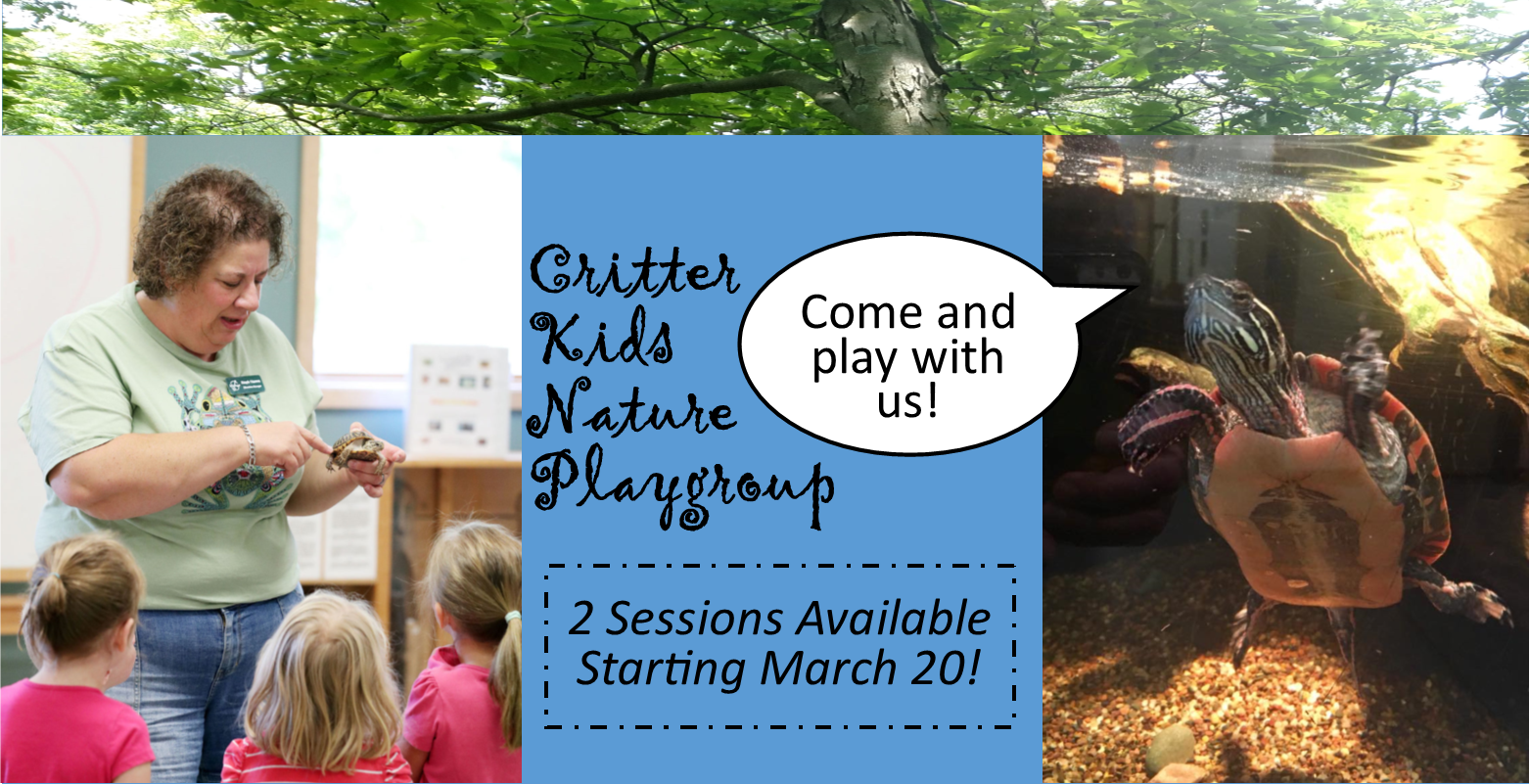 Critter Kids Nature Playgroup @ Myrick Park Center