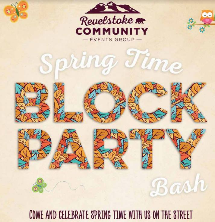 Spring Block Party @ Downtown Revelstoke |  |  |