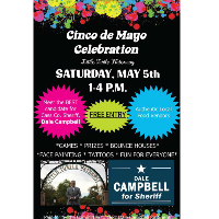 Dale Campbell for Sheriff Cinco de Mayo Celebration @ Little Turtle Waterway Plaza