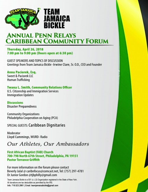 Caribbean Community Forum