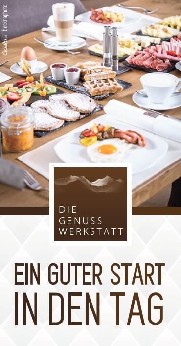 Exklusives Frühstück @ Die Genusswerkstatt