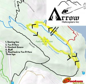 RCA - Arrow Heli XC Fiver Series @ Revelstoke |  |  |