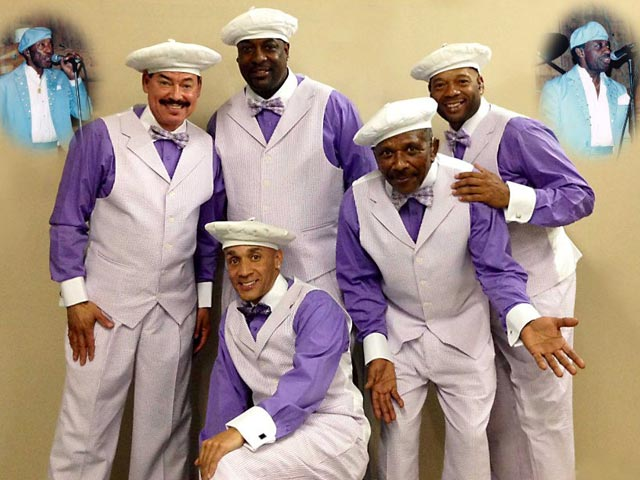 The Tams at Party in the Park @ Romare Bearden Park