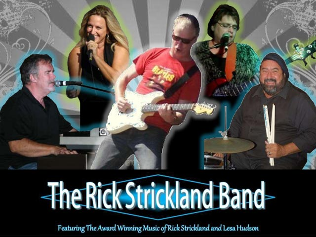 The Rick Strickland Band at Party in the Park @ Romare Bearden Park