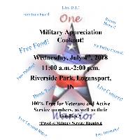 One Warrior Foundation Annual Military Appreciation Event @ Riverside Park