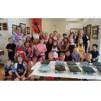 Mimi Leslie Summer Art Camp @ Logansport Art Association