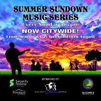 Summer Sundown Music Series: Adam Rogers at Tower Park @ Tower Park