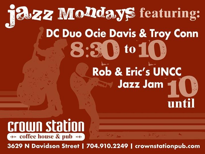 Jazz Jam at Crown Station Coffee House and Pub @ Coffee Shops