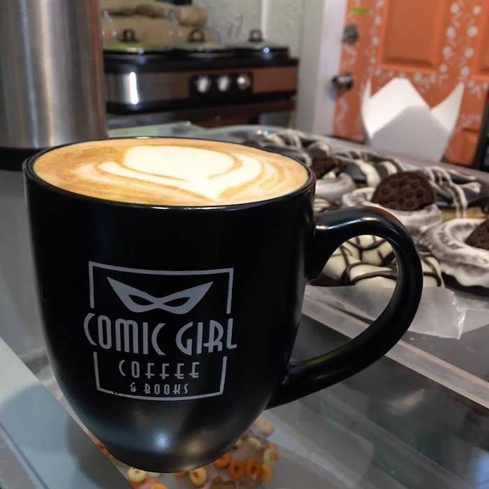 Mics and Mochas at Comic Girl Coffee @ Coffee Shops
